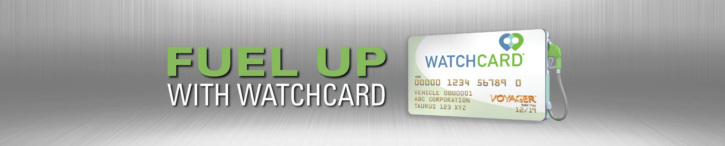 Watchcard Nationwide Fuel Card | National Fleet Fueling Card